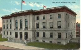 Etats Unis. Post Office, Great Falls - Great Falls