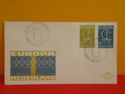 Néderland FDC, Europa 20 September 1966 Pays-Bas FDC - Europa-CEPT
