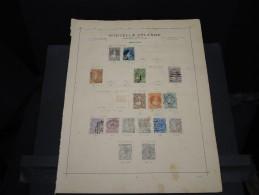NOUVELLE ZELANDE - Classiques à Voir - Lot N° 15607 - 1855-1907 Colonie Britannique