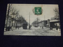 PARIS  -  Avenue Daumesnil Et La Rue De Charenton  -  1913  -  (2 Scans) - France