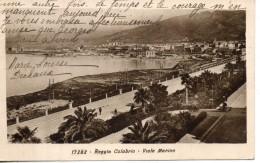 Italie. Reggio Calabria. Viale Marina - Reggio Calabria