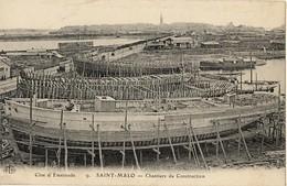 35 Saint-Malo - Chantiers De Construction - Sillon  - Malo_NV3 - Saint Malo