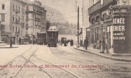 Grenoble : Place Notre Dame Et Monument Du Centenaire - - Grenoble