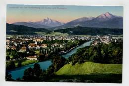 Innsbruck Von Der Weiherburg Mit Series Und Nockspitze. - Innsbruck