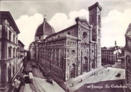 Firenze - La Cattedrale, Viaggiata 1956 - Firenze