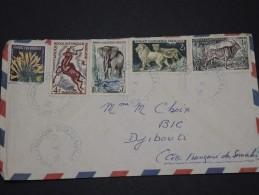 MOYEN CONGO AEF - Env De Brazzaville Pour Djibouti Côtes Des Somalis - Mai 1959 - A Voir - P17875 - Lettres & Documents