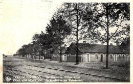 [DC2813] CPA - BELGIO - CAMP DE BEVERLOO - LES BLOCS ET LE CHATEAU D'AU - Viaggiata 1937 - Old Postcard - Leopoldsburg (Camp De Beverloo)