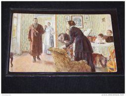 Paintings Russia I.E.Repine Inattendu__(3809) - Peintures & Tableaux