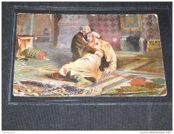 Paintings Russia I.E.Repine Ivan Le Terrible Et Son Fils -16__(3867) - Peintures & Tableaux