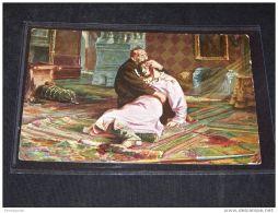 Paintings Russia I.E.Repine Ivan Le Terrible Et Son Fils__(3868) - Peintures & Tableaux