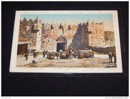 Palestine Jerusalem Damaskustor -28__(5667) - Palestine