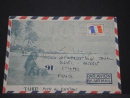 TAHITI - Env Illustrée En Franchise Militaire Pour Paris - Dec 1971 - A Voir - P17899 - Tahiti