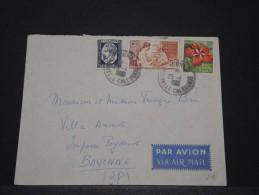 NOUVELLE CALEDONIE - Env Pour Paris - Janv 1961 - A Voir - P17898 - Briefe U. Dokumente