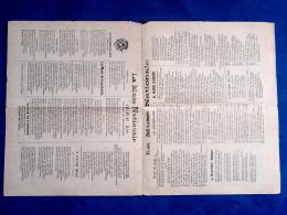 PARTITION POPULAIRE RUE RECUEIL LA MUSE NATIONALE LIBRE-PENSÉE LAÏCITÉ POPULISME MILITARIA ALSACE GARIBALDI LA COMMUNE - Music & Instruments