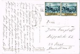 17902. Postal CALA MILLOR (Mallorca) Baleares 1966. Vistas Cala Millor - 1931-Hoy: 2ª República - ... Juan Carlos I