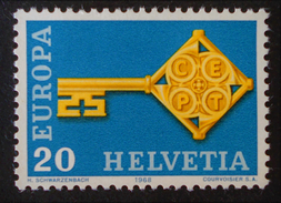 EUROPA 1968 - NEUF ** - YT 806 - MI 871 - Suisse