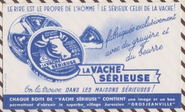 132 BUVARD LA VACHE SERIEUSE    17.5 X 10.5 CM - Dairy