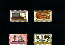 UNITED STATES/USA - 1973  PROGRESS IN ELECTRONICS  SET  MINT NH - Stati Uniti