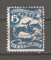 Sello Nº 205 Holanda - 1891-1948 (Wilhelmine)