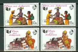 Gambia 1985  Yv 540/543**, Mi 553/556**,  MNH - Gambie (1965-...)