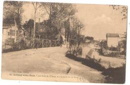 -93- AULNAY SOUS BOIS  Le Pont De L'union écrite TTB - Aulnay Sous Bois