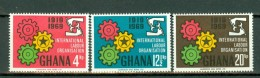 Ghana 1969  Yv 363/365**, Mi 386/388**,  MNH - Ghana (1957-...)