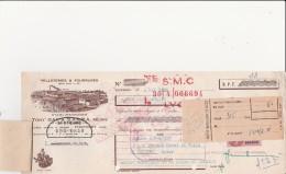 TRAITE ILLUSTREE PELLETERIES ET FOURRURES - THOISSEY -ANNEE 1959 - Bills Of Exchange