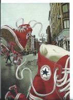 CPM Publicitaire - TENNIS SHOES - CONVERSE ALL STARS - GO CARD 2006 - Publicité