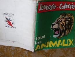 """ALBUM IMAGES """"JEUNESSE-COLLECTIONS""""PANINI 1970 : 335/336 IMAGES Collées . - Autres"""