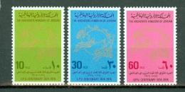 Jordanie 1974  Yv 800/802**, Mi 921/923**,  MNH - Jordanie
