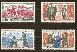Andorre Andorra 1963-1964 Yvertn° 167-70 *** MNH Cote 85 Euro - Neufs