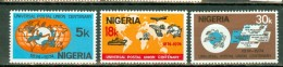 Nigeria 1974  Yv 312/314**,   MNH - Nigeria (1961-...)