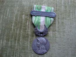Médaille Du Maroc Guerre Du Rif Avec Barette (port En Sus) - France