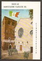 1968 Italia Repubblica 50° DELLA VITTORIA Serie Di 6v. Su Cartolina Trieste - S.Giusto Annullo Commemorativo 4/11/68 - Militaria