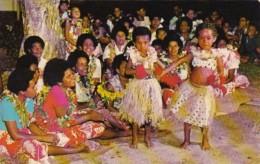 Fiji Young Dancers At The Korolevu Beach Hotel - Fiji
