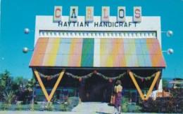 Haiti Port-au-Prince Carlos Handicrafts Gift & Shop