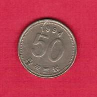 KOREA---South   50 WON 1994 (KM # 34) - Korea, South
