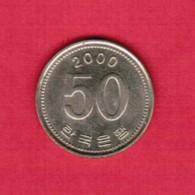 KOREA---South   50 WON 2000 (KM # 34) - Korea, South