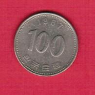 KOREA---South  100 WON 1987 (KM # 35.2) - Korea, South