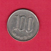 JAPAN  100 YEN 1988 (Showa 63) (Y # 82) - Japan