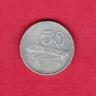 MOZAMBIQUE  50 CENTAVOS 1982 (KM # 98) - Mozambique