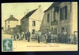 Cpa  Du 95  Epiais Les Louvres -- Maison Poncet   LIOB85 - Frankrijk