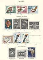 Lot De 53 Timbres (état Obl. Et Avec Charnières) - Ghana (1957-...)