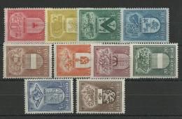 BELGIQUE - YVERT N°743/47 + 756/60 * - COTE = 36 EURO - Belgique