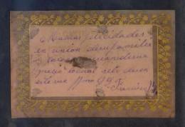Postal Impresa Sobre Lámina De Celuloide. Escrita. - Otros