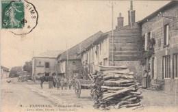 08 - FLEVILLE - Grande Rue. 1906 - Altri Comuni
