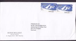 Spain BUFETE MULLERAT, BARCELONA (Uncancelled) Cover Letra Denmark 2x ATM / Frama Labels EXPO ´98 - Poststempel - Freistempel