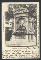 CPA - Souvenir De BRUXELLES - Monument De Coster à IXELLES - Elsene - Nels  Série 1 N° 5  // - Elsene - Ixelles