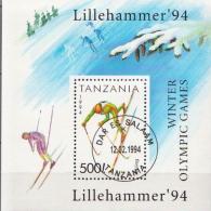 Tanzania CTO SS - Hiver 1994: Lillehammer
