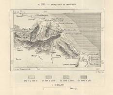 MASCATE Masqat & Surroundings Oman  - 1891 Italian Ma - Mondo